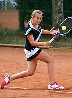10-08-11, Tennis, Hillegom, Nationale Jeugd Kampioenschappen, NJK, Tess van Dinteren