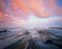 Mission Barrika area, Bay of Biscay, Basque country, Atxabiribil beach/coast