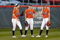 SAN ANTONIO, TX - FEBRUARY 28, 2018: The University of Texas at San Antonio Roadrunners fall to the Texas State University Bobcats 7-1 at Roadrunner Field. (Photo by Jeff Huehn)