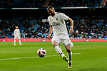 Real Madrid's Karim Benzema during Copa Del Rey match between Real Madrid and CD Leganes at Santiago Bernabeu Stadium in Madrid, Spain. January 09, 2019. (ALTERPHOTOS/A. Perez Meca)