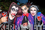 Vampires Brendan Sheehan Templeglantine, Milan and Noreen Thompson Knocknagoshel drinking the blood and eating the heart of their victims at the Knocknagoshel Halloween festival on Sunday night
