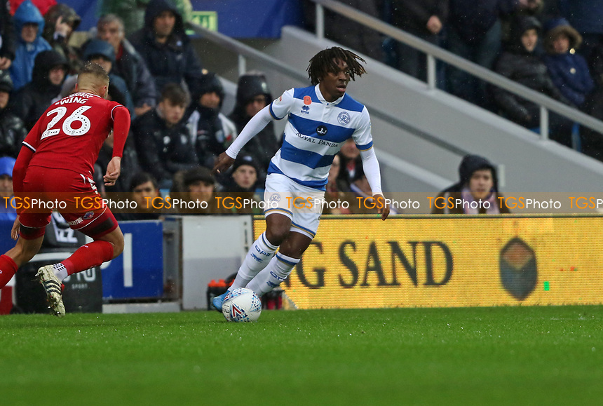 Eberechi Eze of Queens Park Rangers during Queens Park Rangers vs Middlesbrough, Sky Bet EFL Championship Football at Loftus Road Stadium on 9th November 2019
