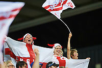 English Fans. England v France during the Rugby League World Cup match from NIB Stadium, Perth, Western Australia. Rugby League World Cup 2017. 12th November 2017. Copyright Image: Daniel Carson / www.photosport.nz MANDATORY CREDIT/BYLINE : Daniel Carson/SWpix./PhotoSportNZ