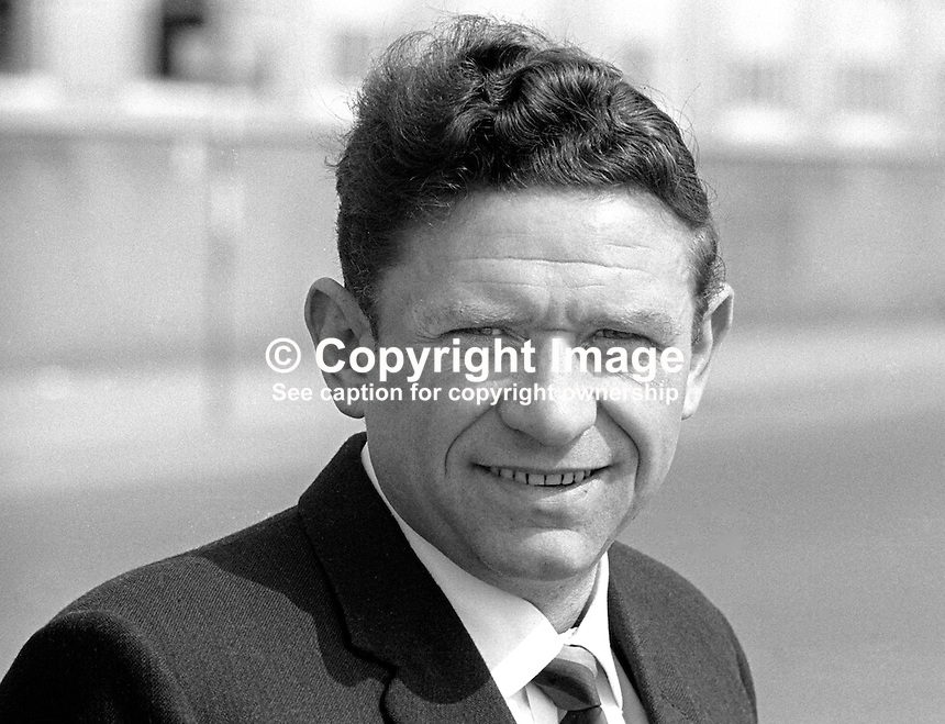 Jack Sharkey, N Ireland Labour Party, candidate, North Belfast, June 1970 General Election, 197005000179b<br />