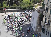 Cyclist riders during  the first stage of 96° Giro d''italia cycling race in Naples . NAPOLI 04/05/2013 PRIMA TAPPA  CIRCUITO NAPOLI 968 GIRO D'ITALIA