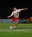 Andy Drury of Stevenage Borough during the  Blue Square Premier match between Stevenage Borough and Oxford United at the Lamex Stadium, Broadhall Way, Stevenage on Tuesday 30th March, 2010..© Kevin Coleman 2010 .