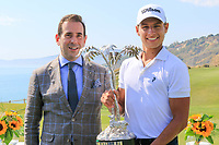 Marco Trufelli GM Verdura Resort &amp; Joakim Lagergren (SWE) during the final round of the Rocco Forte Sicilian Open played at Verdura Resort, Agrigento, Sicily, Italy 13/05/2018.<br /> Picture: Golffile | Phil Inglis<br /> <br /> <br /> All photo usage must carry mandatory copyright credit (&copy; Golffile | Phil Inglis)