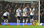Tottenham's Erik Lamela looks on dejected after West Ham's opening goal<br /> <br /> - English Premier League - West Ham Utd vs Tottenham  Hotspur - Upton Park Stadium - London - England - 2nd March 2016 - Pic David Klein/Sportimage