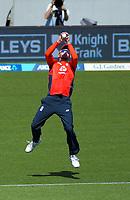 England's James Vince drops a catch. Twenty20 International cricket match between NZ Black Caps and England at Westpac Stadium in Wellington, New Zealand on Sunday, 3 November 2019. Photo: Dave Lintott / lintottphoto.co.nz