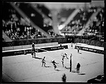 Beach Volleyball, Women, Summer  Olympics, Athens, Greece, August 2004