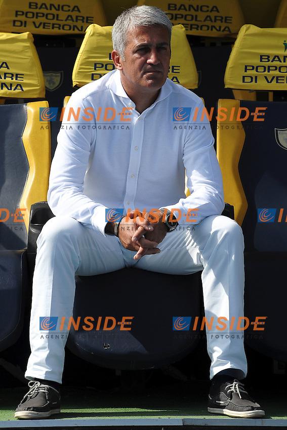 "Vladimir Petkovic allenatore Lazio.Verona 16/9/2012 Stadio ""Bentegodi"".Football Calcio Serie A 2012/2013.Chievo Vs Lazio.Foto Andrea Staccioli Insidefoto"