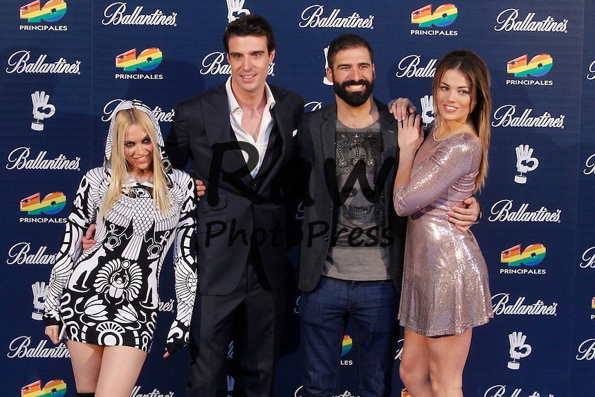 Los Premios 40 Principales se han entregado en Madrid.<br /> <br /> 40 Principales Awards ceremony held in Madrid on December 11th, 2015.