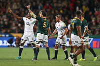 Maro Itoje of England during the 2018 Castle Lager Incoming Series 1st Test match between South Africa and England at Emirates Airline Park,<br /> Johannesburg.South Africa. 09,06,2018 Photo by (Steve Haag Sports)