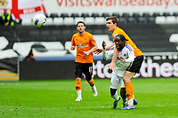 FAO SPORTS PICTURE DESK<br /> Pictured: Saturday, 28 April 2012<br /> Re:  Premier League football, Swansea City FC v Wolverhampton Wanderers at the Liberty Stadium, south Wales.