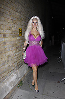 LONDON, ENGLAND - OCTOBER 05 :  Brooklyn Blue attends the UKAP Awards 2018, at Pulse club on October 05, 2018 in London, England.<br /> CAP/AH<br /> &copy;AH/Capital Pictures