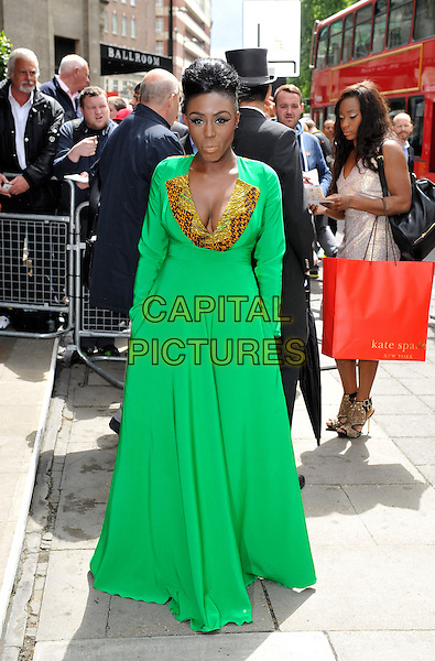 LONDON, ENGLAND - MAY 22: Laura Mvula attends the Ivor Novello Awards at The Grosvenor House Hotel on May 22, 2014 in London, England.<br /> CAP/PP/GM<br /> &copy;Gary Mitchell/PP/Capital Pictures