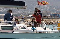 Salida de la 22 Ruta de la Sal 2009 Versión Este, Denia, Alicante, España