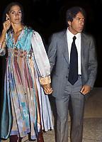 Dustin Hoffman and wife Anne Burn Hoffman Undated<br /> Photo By John Barrett/PHOTOlink /MediaPunch