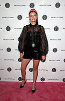 LOS ANGELES, CA - AUGUST 10: Rebecca Black, at Beautycon Festival Los Angeles 2019 - Day 1 at Los Angeles Convention Center in Los Angeles, California on August 10, 2019.  <br /> CAP/MPI/SAD<br /> ©SAD/MPI/Capital Pictures