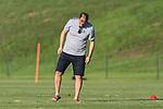 04.01.2019, Trainingsgelaende Randburg Football Club, Johannesburg, RSA, TL Werder Bremen Johannesburg Tag 02<br /> <br /> im Bild / picture shows <br /> Klaus Filbry (Vorsitzender der Gesch&auml;ftsf&uuml;hrung / Kaufm&auml;nnischer Gesch&auml;ftsf&uuml;hrer SV Werder Bremen) testet den Rasen, <br /> <br /> Foto &copy; nordphoto / Ewert