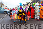 Breda, Danny Chloe and Kyle Roche with Aoife Fitzpatrick causing mayhem at the Rathmore St Patricks parade on Sunday