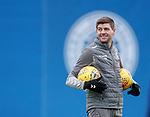 19.12.2019 Rangers training: Steven Gerrard