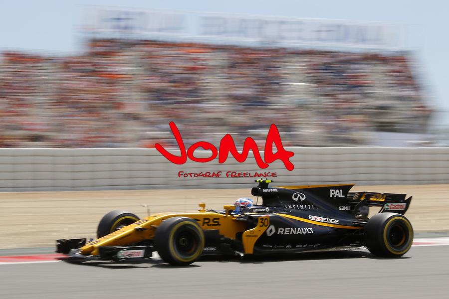 Jolyon Palmer (ENG) Renault Sport at  Formula 1, Spanish Grand Prix, Barcelona.