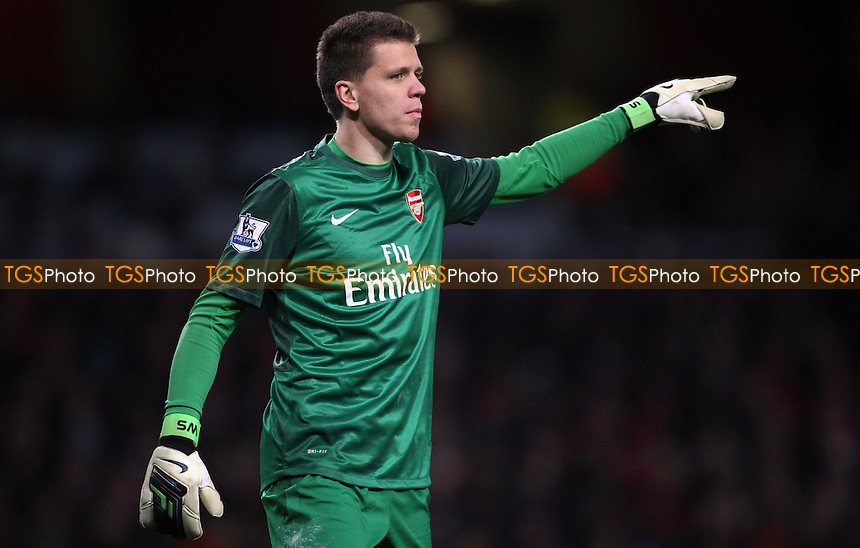 Wojciech Szczesny of Arsenal - Arsenal vs Manchester City, Barclays Premier League at The Emirates Stadium, Arsenal - 13/01/13 - MANDATORY CREDIT: Rob Newell/TGSPHOTO - Self billing applies where appropriate - 0845 094 6026 - contact@tgsphoto.co.uk - NO UNPAID USE.