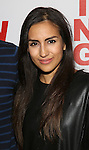 Yesenia Ayala attends the opening night party for the New Group Production of Wallace Shawn's  'Evening at the Talk House' at Green Fig Urban Eatery on 2/16/2017 in New York City.