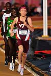 11 MAR 2016:  Thomas Curtin of Virgina Tech University leads the 5000m Run during the Division I Men's Indoor Track & Field Championship held at the Birmingham Crossplex in Birmingham, Al. Tom Ewart/NCAA Photos