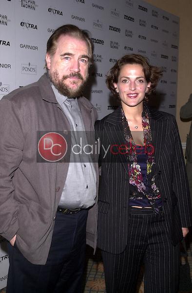 Brian Cox and wife Nicole