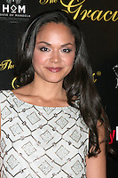 Karen Olivo at the Alliance for Women in Media Foundation's 37th Annual Gracie National Awards at The Beverly Hilton Hotel on May 22, 2012 in Beverly Hills, California. ©mpi28/MediaPunch Inc.