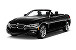 2016 BMW 4 Series 428I 2 Door Convertible Angular Front stock photos of front three quarter view