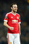 Juan Mata of Manchester United during the UEFA Europa League match at Old Trafford. Photo credit should read: Philip Oldham/Sportimage