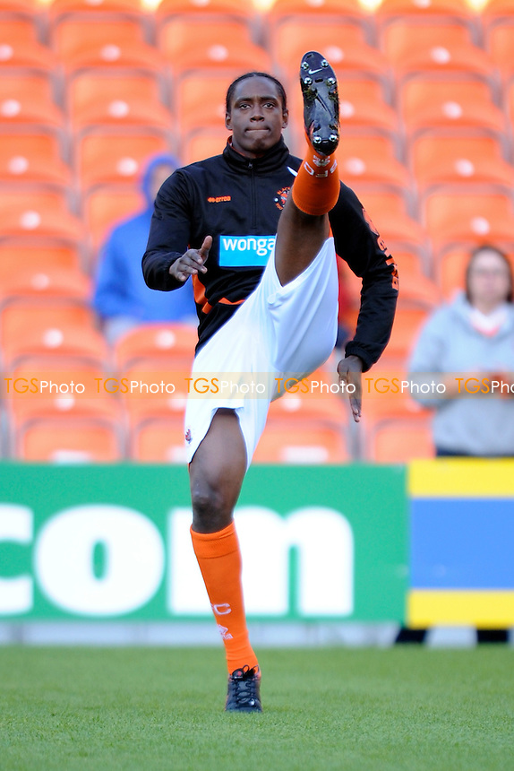 New signing Nile Ranger of Blackpool starts on the bench - Blackpool vs Brentford - Sky Bet Championship Football at Bloomfield Road, Blackpool, Lancashire - 19/08/14 - MANDATORY CREDIT: Greig Bertram/TGSPHOTO - Self billing applies where appropriate - contact@tgsphoto.co.uk - NO UNPAID USE