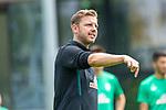 05.07.2019, Parkstadion, Zell am Ziller, AUT, TL Werder Bremen - Tag 01<br /> <br /> im Bild / picture shows <br /> <br /> <br /> Florian Kohfeldt (Trainer SV Werder Bremen)<br /> Gestik, Mimik,<br /> Einzelaktion, Halbkörper / Halbkoerper,<br /> <br /> <br /> Foto © nordphoto / Kokenge