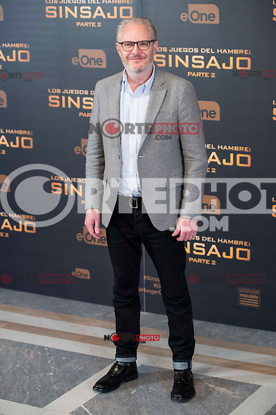 "Director Francis Lawrence during the presentation of film ""The Hunger Games: Sinsajo Part 2"" in Madrid, Novermber 10, 2015.<br /> (ALTERPHOTOS/BorjaB.Hojas)"