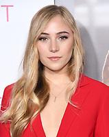 "07 March 2019 - Westwood, California - Sophia Bernard. ""Five Feet Apart"" Los Angeles Premiere held at the Fox Bruin Theatre. Photo Credit: Birdie Thompson/AdMedia"