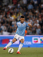Calcio, finale Tim Cup: Juventus vs Lazio. Roma, stadio Olimpico, 20 maggio 2015.<br /> Lazio's Felipe Anderson in action during the Italian Cup final football match between Juventus and Lazio at Rome's Olympic stadium, 20 May 2015.<br /> UPDATE IMAGES PRESS/Isabella Bonotto