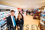 CH Chemist revamped shop in Tralee opened on Wednesday are Peter Harty and Claire Harty.