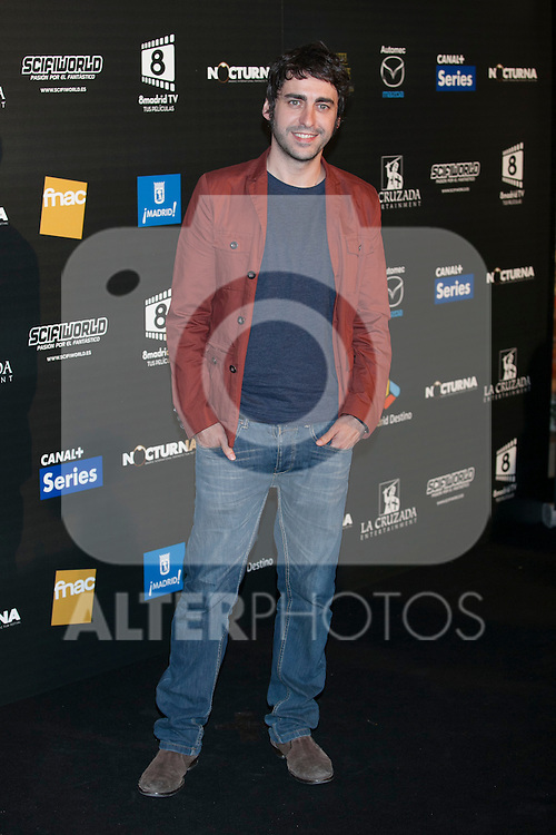 Actor Jose Troncoso poses during Nocturna fantasy films festival photocall in Madrid, Spain. May 26, 2013. (ALTERPHOTOS/Victor Blanco)