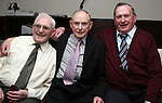Larry Smith with his brothers Raymond and Peadar (all originally from Mell) at his 80th in Nano Reids...Photo NEWSFILE/Jenny Matthews.(Photo credit should read Jenny Matthews/NEWSFILE)....This Picture has been sent you under the condtions enclosed by:.Newsfile Ltd..The Studio,.Millmount Abbey,.Drogheda,.Co Meath..Ireland..Tel: +353(0)41-9871240.Fax: +353(0)41-9871260.GSM: +353(0)86-2500958.email: pictures@newsfile.ie.www.newsfile.ie.FTP: 193.120.102.198.