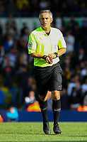 Referee Darren Bond<br /> <br /> Photographer Alex Dodd/CameraSport<br /> <br /> The EFL Sky Bet Championship - Leeds United v Swansea City - Saturday 31st August 2019 - Elland Road - Leeds<br /> <br /> World Copyright © 2019 CameraSport. All rights reserved. 43 Linden Ave. Countesthorpe. Leicester. England. LE8 5PG - Tel: +44 (0) 116 277 4147 - admin@camerasport.com - www.camerasport.com