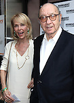 "Neil Simon with wife Elaine Joyce pictured at the Opening Night Arrivals of ""Harvey"" at Studio 54 New York City June 14, 2012 © Walter McBride / WM Photography ."