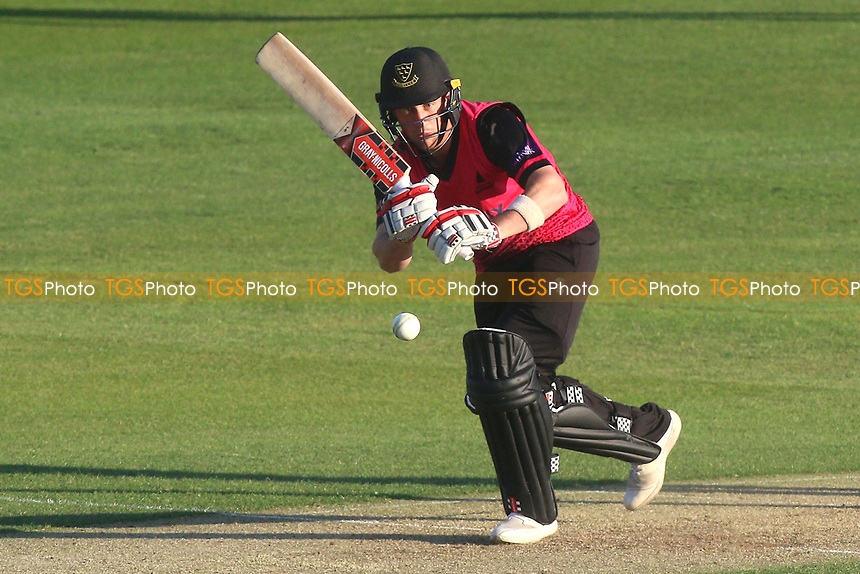 Harry Finch in batting action for Sussex during Essex Eagles vs Sussex Sharks, Royal London One-Day Cup Cricket at The Cloudfm County Ground on 10th May 2017