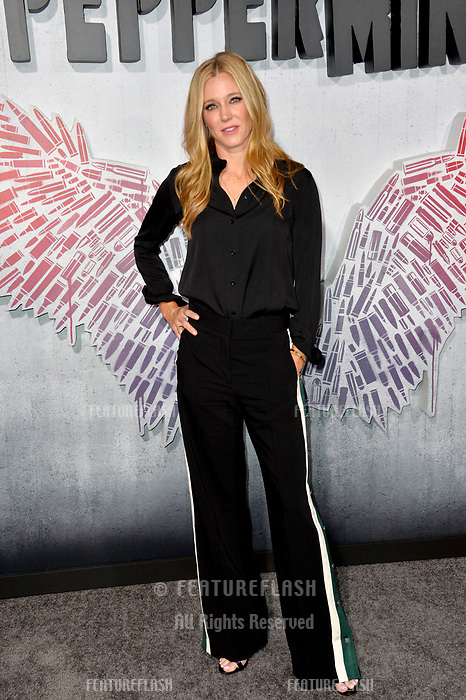 "LOS ANGELES, CA. August 28, 2018: Shauna Duggins at the world premiere of ""Peppermint"" at the Regal LA Live."