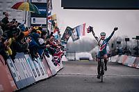 Evie Richards (GBR/TrekFactoryRacing) is the Women's U23 World Champion<br /> <br /> Women U23 Race<br /> UCI CX Worlds 2018<br /> Valkenburg - The Netherlands