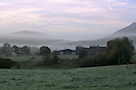 22/09/14 <br /> <br /> The sun rises to reveal the first frost of the season overlooking Beresford Dale on the Derbyshire, Staffordshire border in the Peak District.<br /> <br /> All Rights Reserved: F Stop Press Ltd. +44(0)1335 300098   www.fstoppress.com.