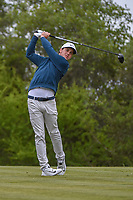 Cody Gribble (USA) watches his tee shot on 15 during Round 2 of the Valero Texas Open, AT&T Oaks Course, TPC San Antonio, San Antonio, Texas, USA. 4/20/2018.<br /> Picture: Golffile | Ken Murray<br /> <br /> <br /> All photo usage must carry mandatory copyright credit (© Golffile | Ken Murray)