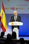 "Carlos Espinosa de los Monteros during the 6th edition of the collecting badges to the new ambassadors fees ""Marca España"" in his 6th edition at BBVA City in Madrid, November 12, 2015.<br /> (ALTERPHOTOS/BorjaB.Hojas)"